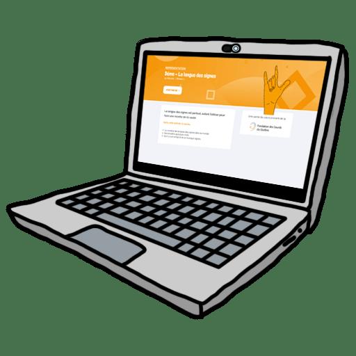 Neo College Laptop Doodle